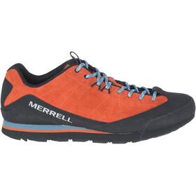 Merrell Catalyst Suede Sko Herrer, orange/sort
